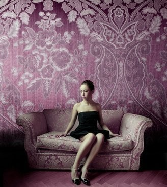 Centerpiece of the room sofa