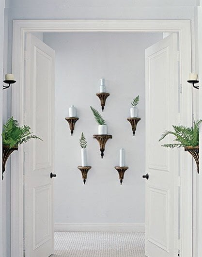entry wall lamps - pinterest