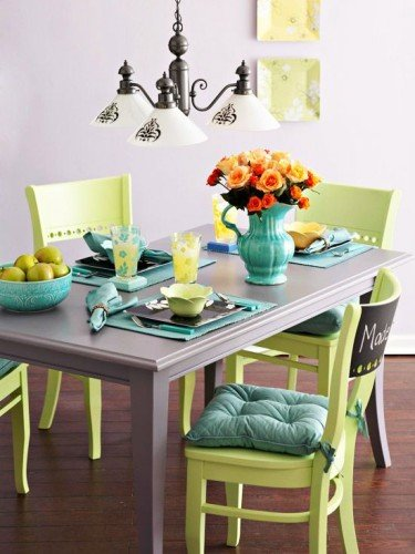 Painted Furniture  Double Shot Green Painted FurnitureDecorated Life
