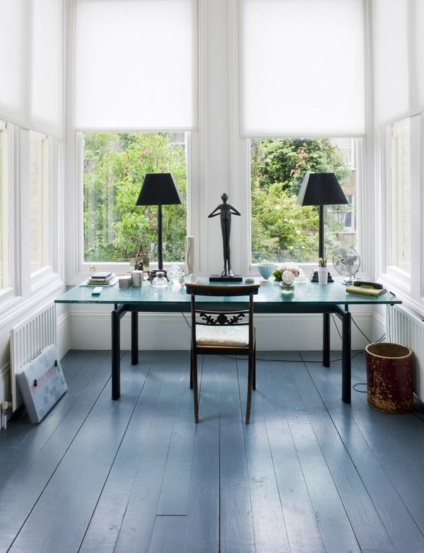 painted floorboards - furnish.co.uk