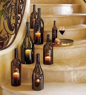 Wine_Bottle_Candle_Holders diyweddingbee