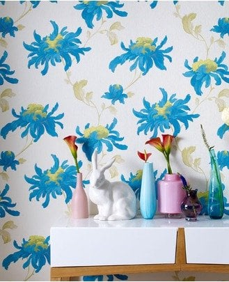 large scale tropical florals - source - grahambrown.com