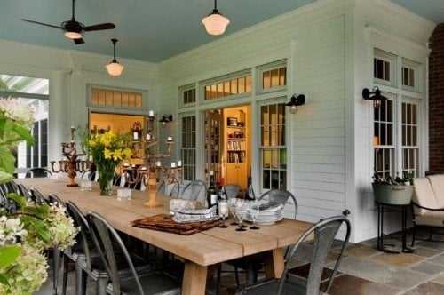 dining table for patio entertaining