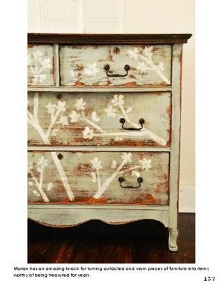 issuu1 Decorative Painting    Restore Furniture with Decorative Finishes