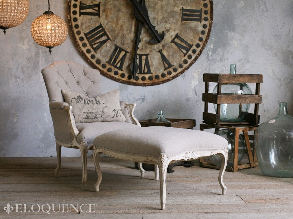 Get 39 the inherited look 39 decorating style with antique for Reproduction furniture