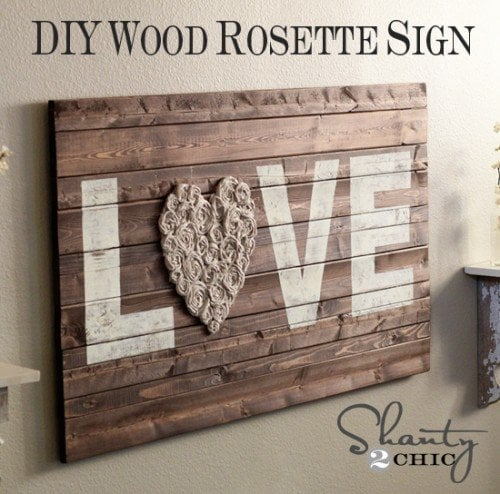diy wall art recycling love decorated life. Black Bedroom Furniture Sets. Home Design Ideas
