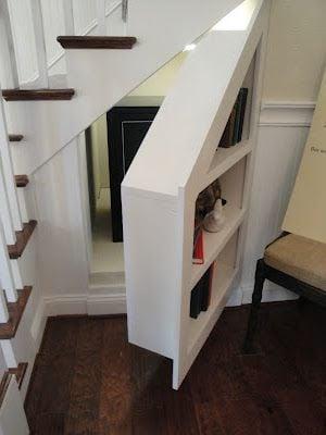 under stairs hidden room