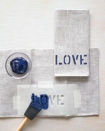 stencils - napkins