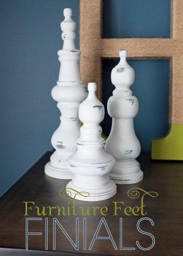 furniture feet finials