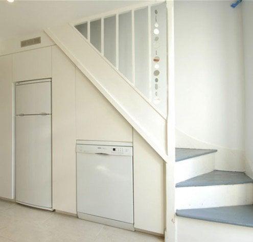 under-stairs-kitchen