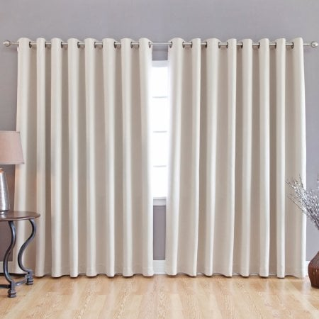 grommet block out curtains
