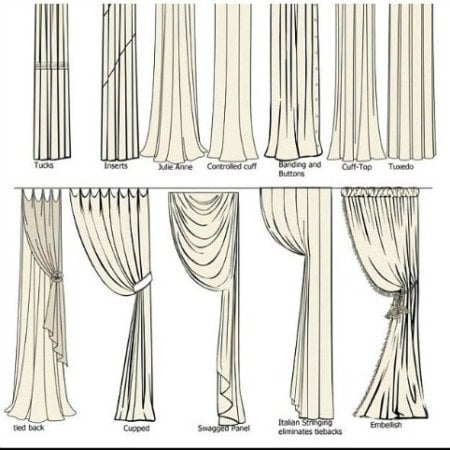 curtain styles for windows