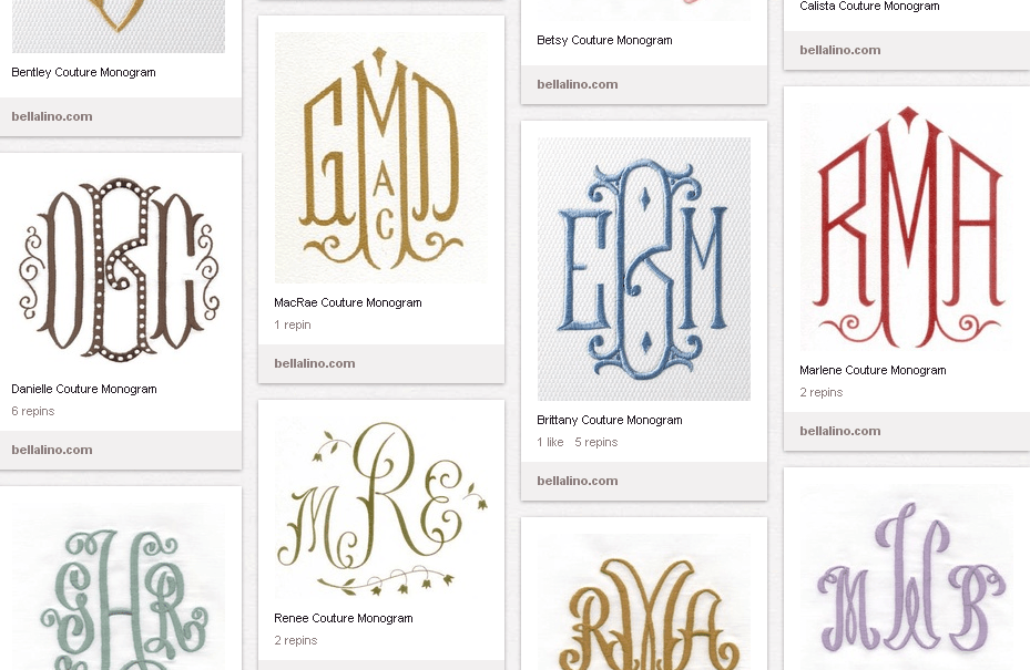 Monograms are Posh! Are You Cool Enough for a Monogram? Know The