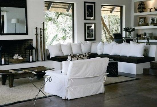black and white color scheme