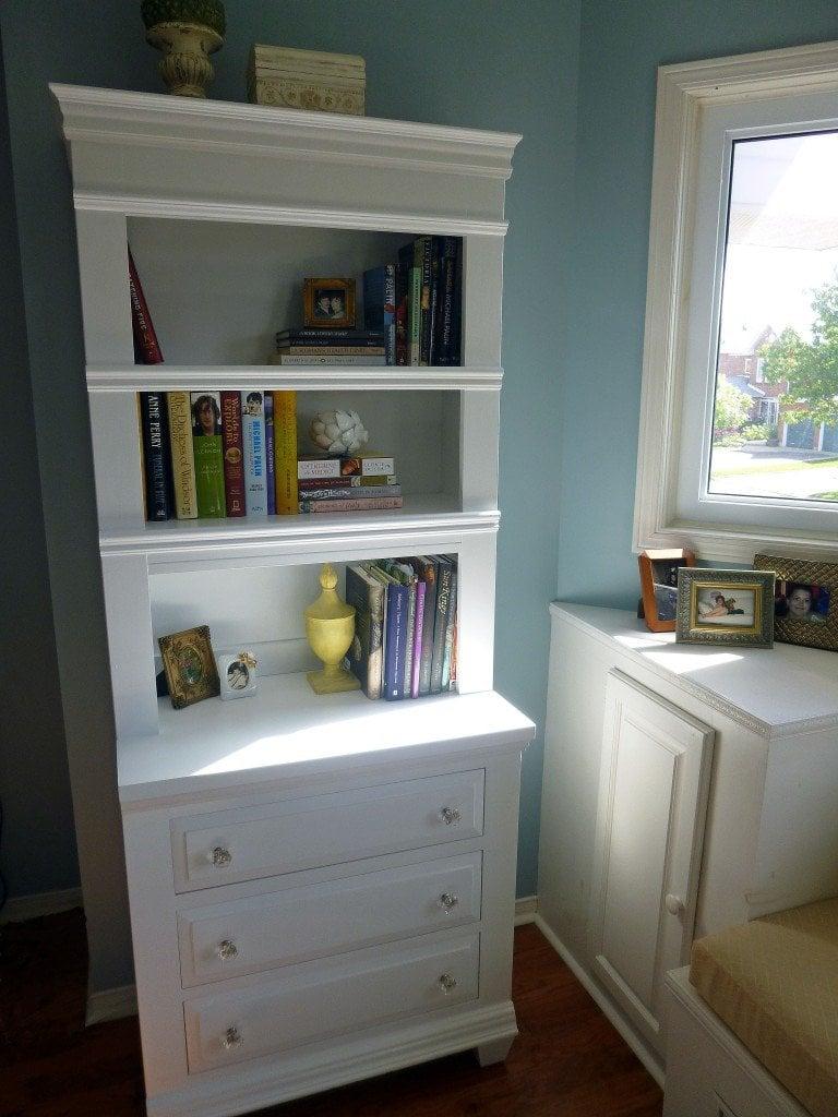 white dresser - after