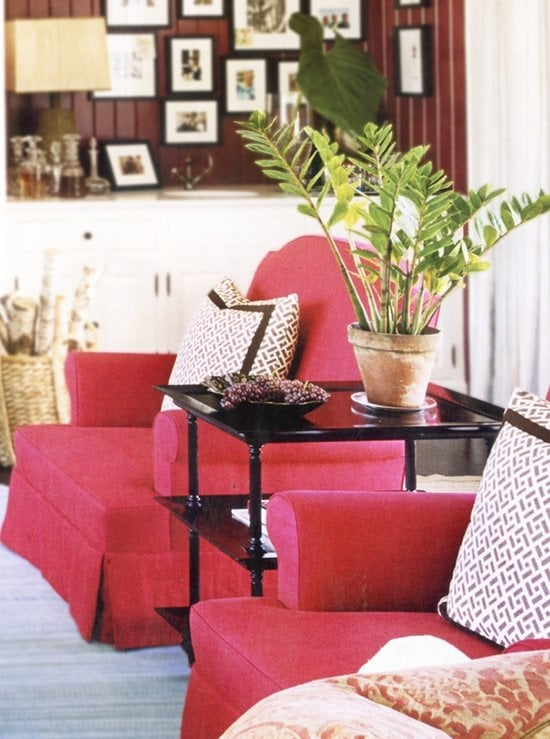 armchairs - no sofa home decorating ideas