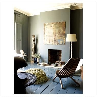 only floorboards - home decorating idea