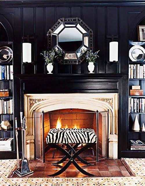 interior design ideas black trim for a new rockstar look. Black Bedroom Furniture Sets. Home Design Ideas