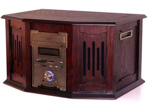 vintage radio gram computer