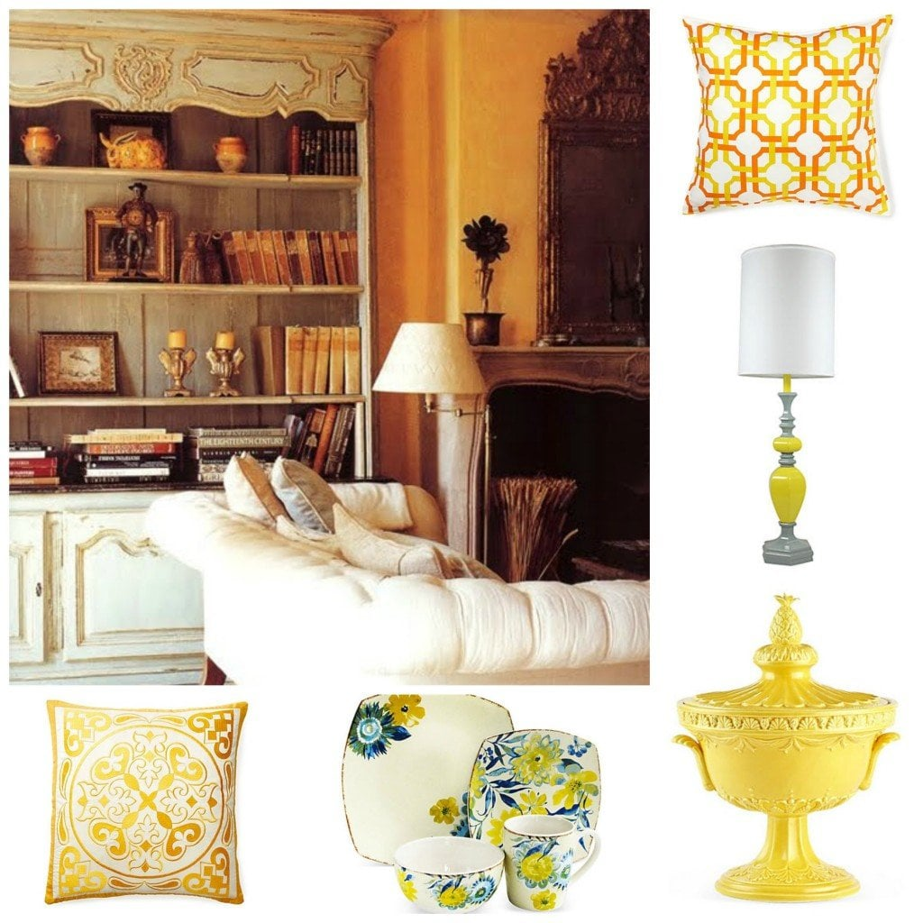 Home decorating trends 2014 yellow decorated life - Home accessories yellow ...