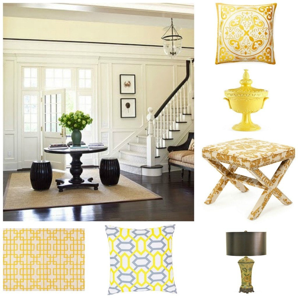 yellow accessories - one kings lane