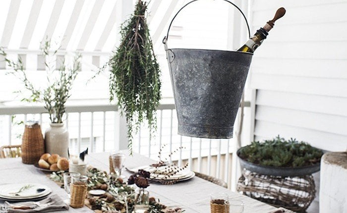 Drinks-Bucket-Table from Remodelista