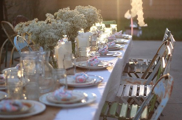 Merveilleux Cool Table Setting Ideas For Outdoor Entertaining Decorated Life