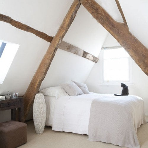 exposed beams - shelterness