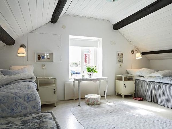 Attic bedroom how to decorate attic bedrooms decorated life - How to decorate my bedroom ...