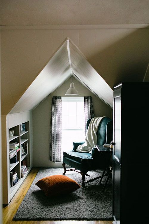 attic nook ideas - Attic Bedroom How to Decorate Attic Bedrooms Decorated Life