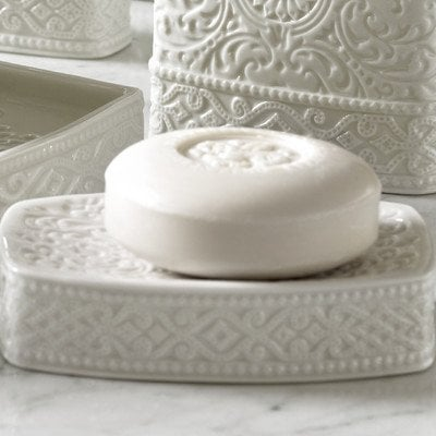 Trump-Home-Bedminster-Damask-Soap-Dish
