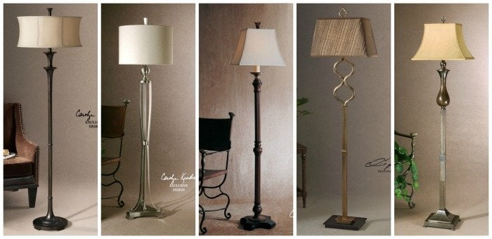 home and patio decor center - lamp collage