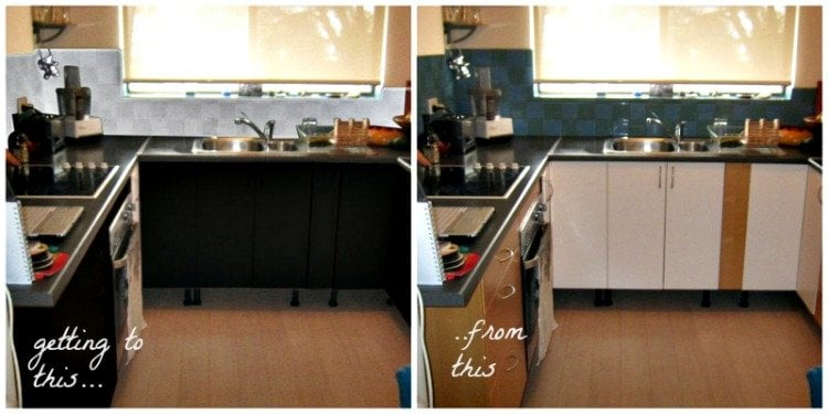 Before and after interior design suggestions