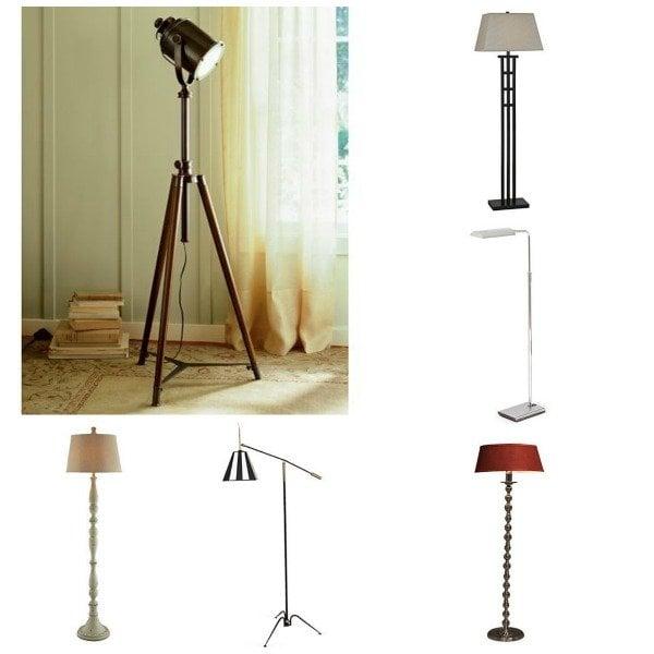 one kings lane - lamp collage