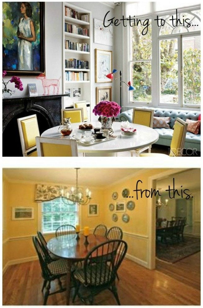 pinterest - before and after shot