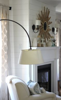 pinterest - curved lamp