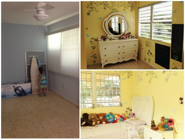 shayna before and after child's bedroom