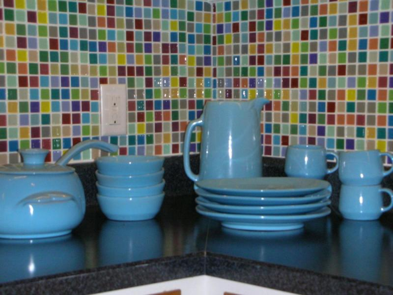 vintage backsplash glass tiles