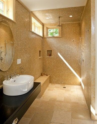 Roman shower