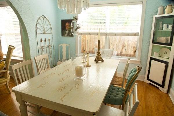 cheryl's dining room