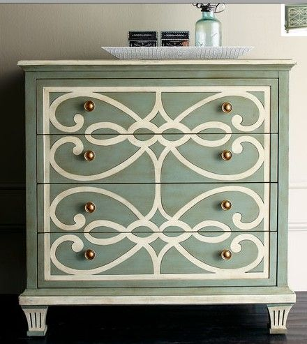 Repainted Furniture 7 painted furniture trends: trending painting techniques