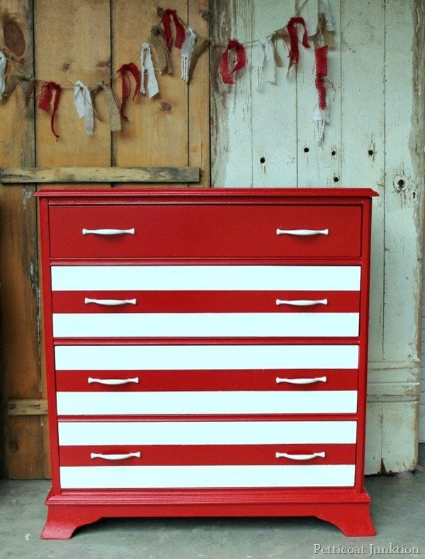 painted red furniture. Painted Red Furniture