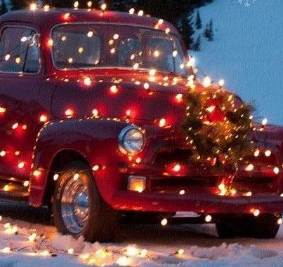 too many Christmas lights