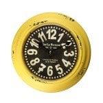 yellow clock