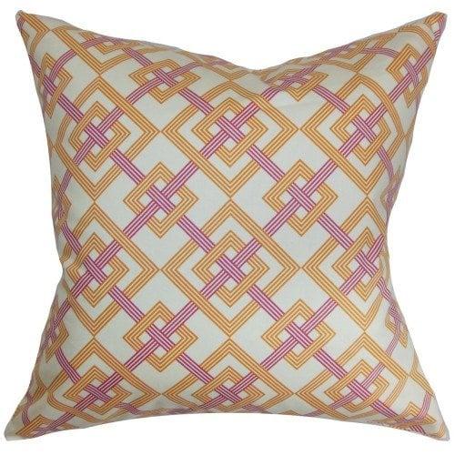 geometric pillows