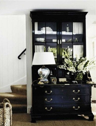 solid pieces for glam decor
