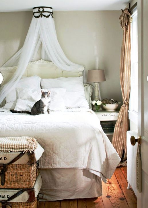 Superb Bed Canopy Ideas Part - 6: Decorated Life