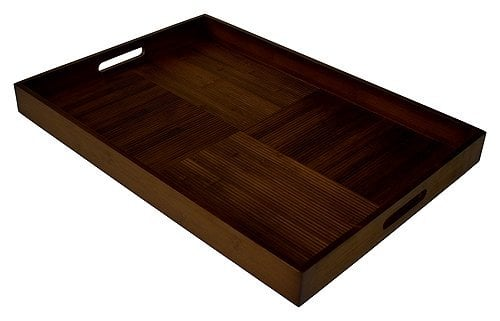wooden rectangular tray from amazon