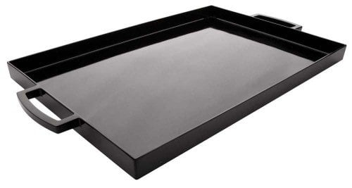 black flat tray from amazon