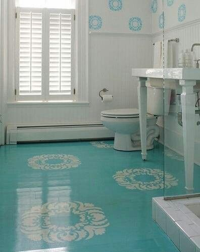 Source Pinterest One Huge Benefit Of Painting Your Concrete Floors